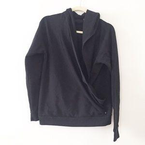 Fabletics Wrap Newport Hoodie Sweatshirt